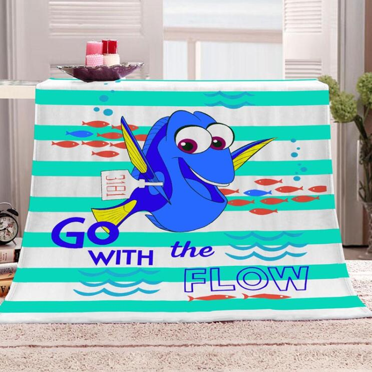 Finding Nemo Double Child Blanket